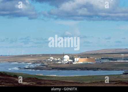 28/04/2016, A view of the former Dounreay Nuclear Power Station, Reay, Caithness, Scotland UK, which is being decommissioned. - Stock Photo