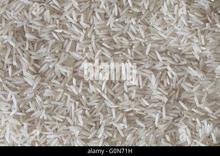 white rice basmati - Stock Photo