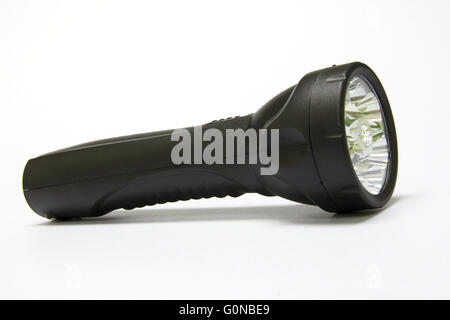 Stock Photo - Electric LED torch isolated - Stock Photo