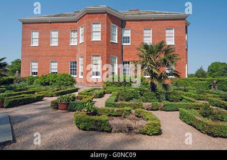 Hatchlands Park, House, East Clandon, Jekyll Garden, Surrey, England, - Stock Photo
