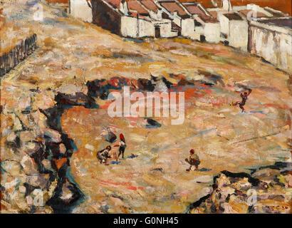 Harry Caldecott - The Cricket Match (Malay Quarter) - Stock Photo