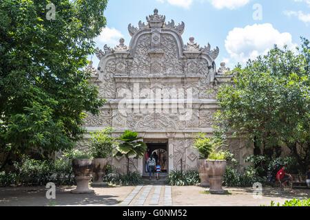 Inside Taman Sari water castle in Yogyakarta - Stock Photo