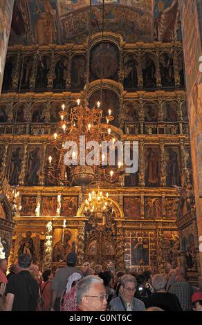 The 17th century Church of Elijah the Prophet in Yaroslavl ...