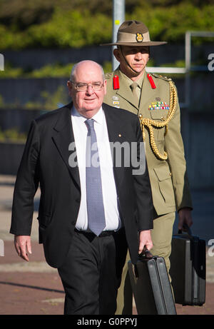 Stuttgart, Germany. 04th May, 2016. Australian Ambassador to Germany David James Ritchie arrives to the meeting - Stock Photo