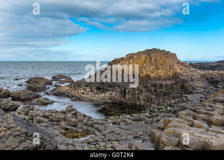 Giants Causeway, Co. Antrim, Northern Ireland. - Stock Photo