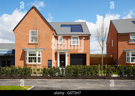 David Wilson Homes new development in Runcorn at Lea view Sandymoor House home place living environment building - Stock Photo