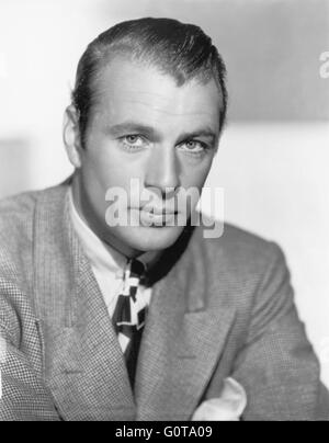 Gary Cooper / 1932 photographed by Clarence Sinclair Bull,(Metro-Goldwyn-Mayer Pictures) - Stock Photo