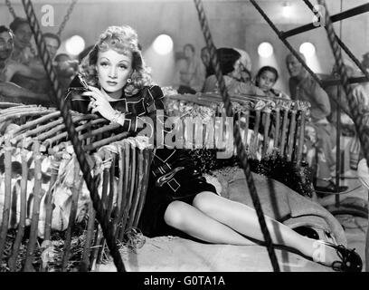 Marlene Dietrich / Seven Sinners / 1940 directed by Tay Garnett (Universal Pictures) - Stock Photo