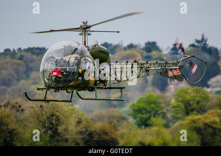 The Sioux is a three-seat observation and basic training helicopter, built by Westland from a Bell design for the - Stock Photo