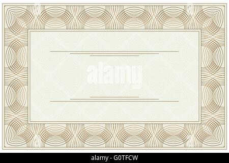 Blank Voucher Stock Photo, Royalty Free Image: 61343840 - Alamy