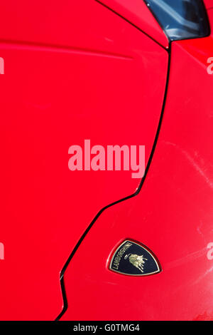 Lamborghini Huracan LP 610 Abstract. Italian Super Car   Stock Photo