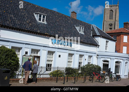 barclays bank in fakenham, north norfolk, england - Stock Photo