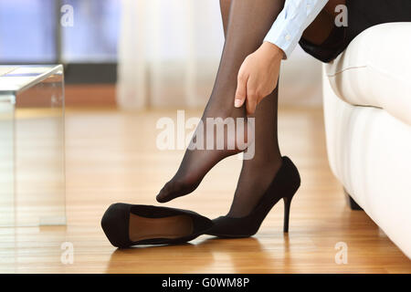 Woman Lady Girl Feet Stockings Tights Panty Hose Nylons