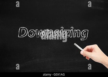 Downsizing - Stock Photo