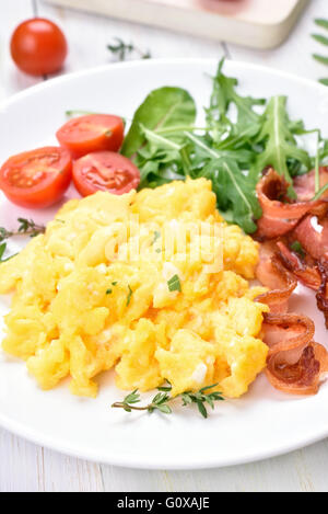 how to make scrambled bacon
