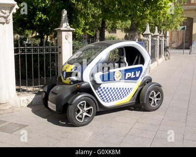 Small Police vehicle - Stock Photo