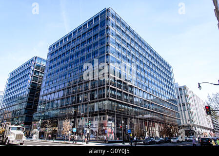 CityCenter DC, mixed-use development, New York Avenue & 11th Street NW, Washington DC - Stock Photo