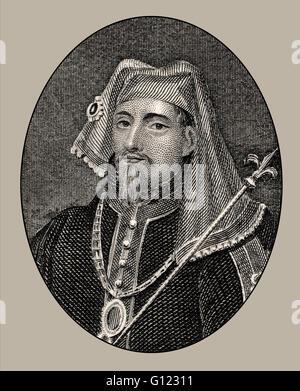 Henry IV, 1367-1413, King of England - Stock Photo