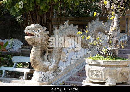 Long Son Pagoda is a Buddhist Temple in Nha Trang Vietnam - Stock Photo