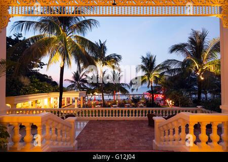 South East Asia, Vietnam, Phu Quoc island, Hotel La Veranda, Long Beach resort - Stock Photo