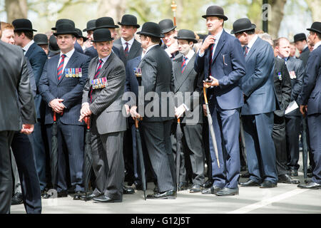 Hyde park. Pic Shows The Annual parade of the Combined Cavalry Old Comrades consisting of serving and former cavalry - Stock Photo