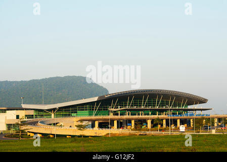 South East Asia, Vietnam, Phu Quoc island, airport - Stock Photo