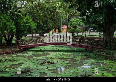 Taman Rekreasi Tasik Melati, Perlis, Malaysia. Tasik Melati is a wetland  famous for its lakes and its recreational - Stock Photo
