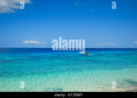 Tropical beaches on Jaco island in East Timor - Stock Photo