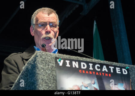 Londonderry. Northern Ireland. 30 Jan 2011 - Frankie Duddy, whose brother Jackie was one of the victims of Bloody - Stock Photo