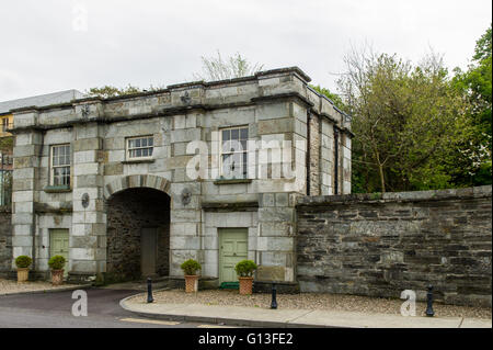 One of the entrances to Bantry House & Gardens, Bantry, West Cork, Ireland. - Stock Photo