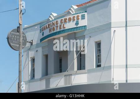 Art Deco Charing Cross Hotel, Carrington Road, Waverley, Sydney, New South Wales, Australia - Stock Photo