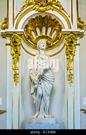 Female Statue The Winter Palace St. Petersburg Russia - Stock Photo