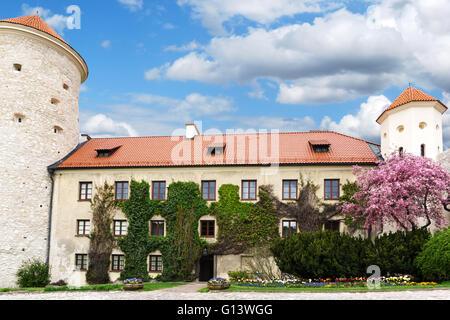 Pieskowa skala castle in Poland - Stock Photo