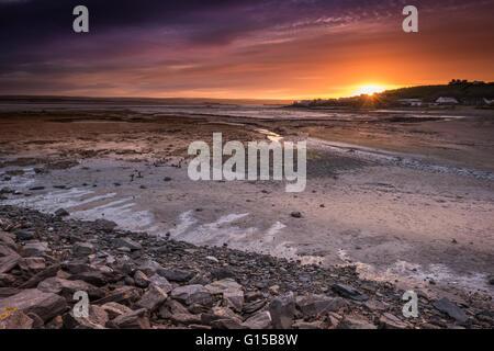 Sunrise Over Appledore - Stock Photo
