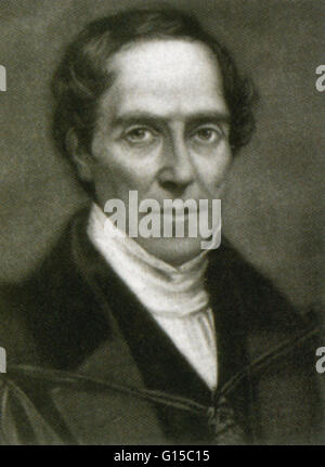 Gideon Algernon Mantell (1790-1852) was an English obstetrician, geologist and palaeontologist. His attempts to - Stock Photo