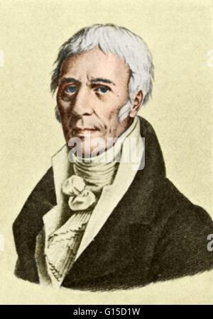 Jean-Baptiste Pierre Antoine de Monet, Chevalier de la Marck (August 1, 1744-December 18, 1829), often known simply - Stock Photo