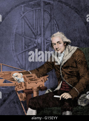 Jesse Ramsden (October 6, 1735 - November 5, 1800) was an English mathematician, astronomical and scientific instrument - Stock Photo