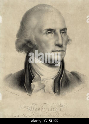 George Washington (February 22, 1732 - December 14, 1799) was the first President of the United States of America, - Stock Photo
