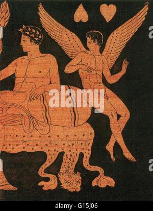 Eros, Greek god of love. - Stock Photo