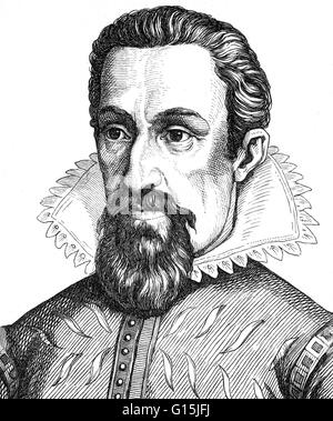 Johannes Kepler (December 27, 1571 - November 15, 1630) was a German mathematician, astronomer and astrologer. A - Stock Photo