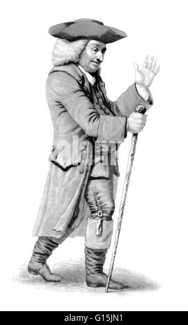 Samuel Johnson (September 18, 1709 - December 13, 1784), often referred to as Dr. Johnson, was an English author - Stock Photo