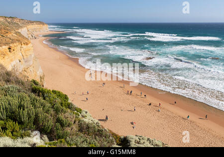 Beach at Gibson Steps, Port Campbell National Park, Great Ocean Road, Victoria, Australia, Pacific - Stock Photo