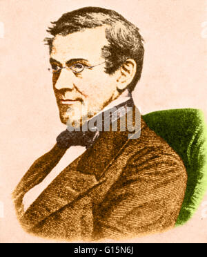 Sir Charles Wheatstone (1802-1875), British inventor. He is best known for the Wheatstone Bridge, a device for determining - Stock Photo