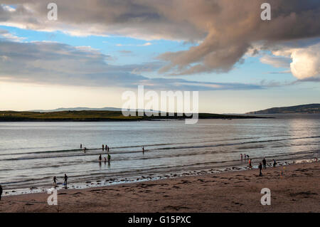 Narin beach near Ardara, County Donegal, Ireland - Stock Photo