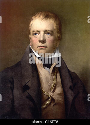 Walter Scott (August 15, 1771 - September 21, 1832) was a Scottish historical novelist, playwright, and poet. Scott - Stock Photo