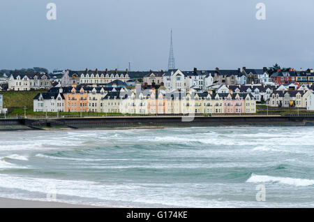 Portrush, County Antrim, Northern Ireland. - Stock Photo