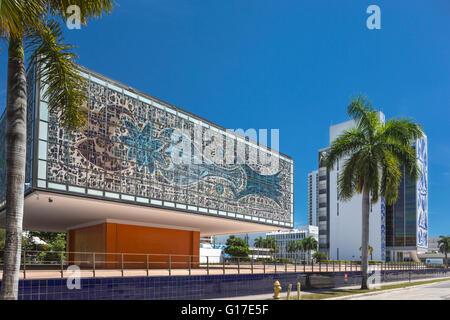 JEWEL BOX ANNEX NATIONAL YOUNGARTS CAMPUS MIAMI FLORIDA USA - Stock Photo