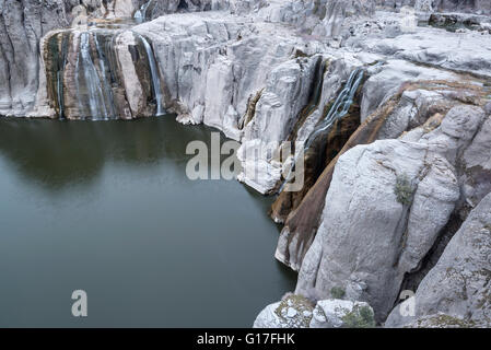 Shoshone Falls on the Snake River in Southcentral Idaho. - Stock Photo