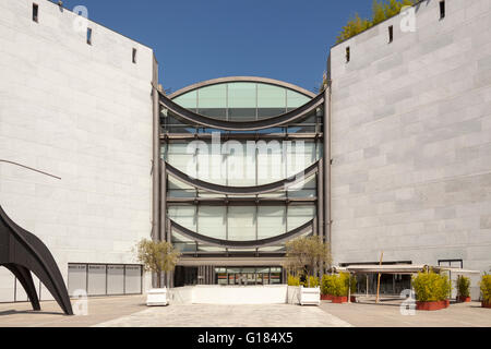 Museum of Modern and Contemporary Art, Musee D'Art Moderne Et D'Art Contemporain, Nice, France - Stock Photo