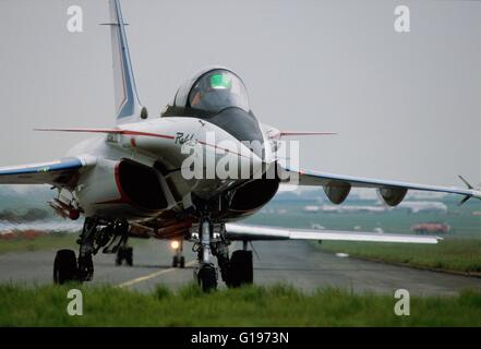 French  Air Force (Armée de l'Air), Rafale fighter aircraft - Stock Photo
